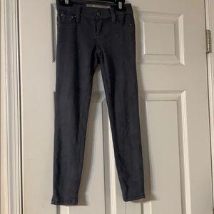 Tractr Velour gray dress pants